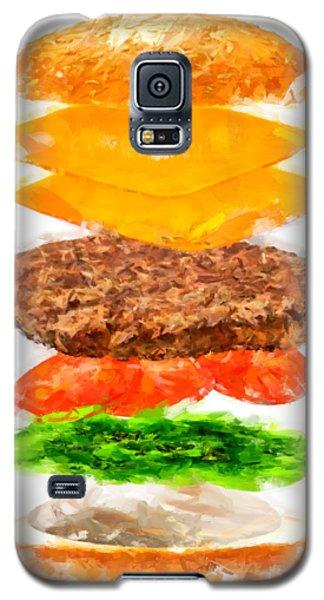 Brazilian Salad Cheeseburger Galaxy S5 Case