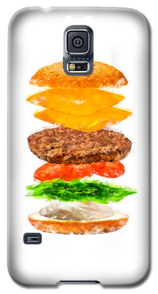 Brazilian Salad Cheeseburger Galaxy S5 Case