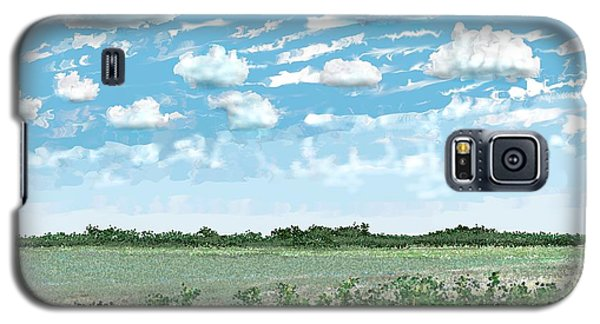 Brazoria County Field Galaxy S5 Case by Kerry Beverly