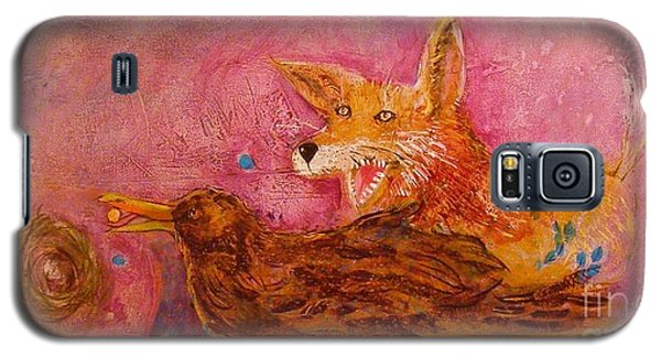 Bre Fox And Bre Crow Galaxy S5 Case by Gertrude Palmer