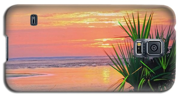 Breach Inlet Sunrise Palmetto  Galaxy S5 Case