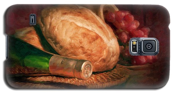 Bread And Wine Galaxy S5 Case by Tom Mc Nemar