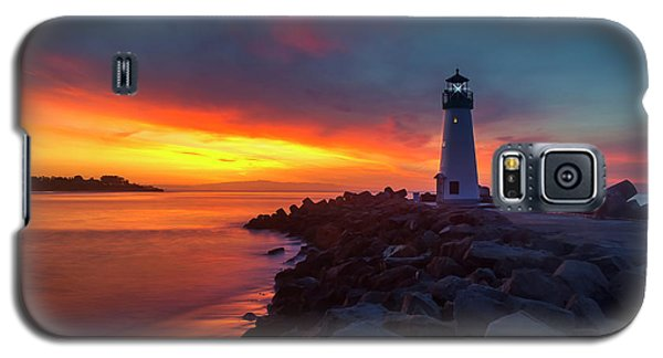 Break Of Day At Walton Lighthouse Galaxy S5 Case