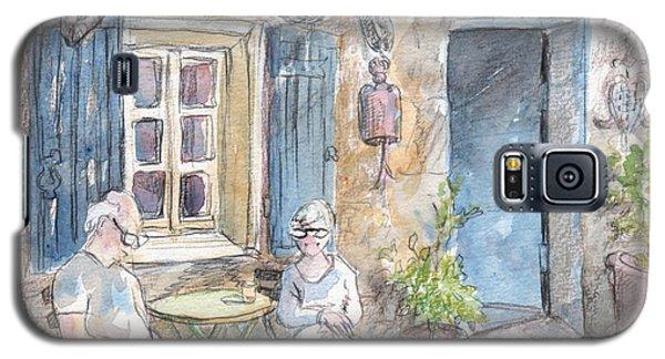 Breakfast Al Fresco Galaxy S5 Case