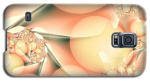 Galaxy S5 Case featuring the digital art Breakfast At Mandy's by Michelle H
