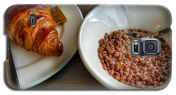 Breakfast Of Cereal And Croissant Galaxy S5 Case
