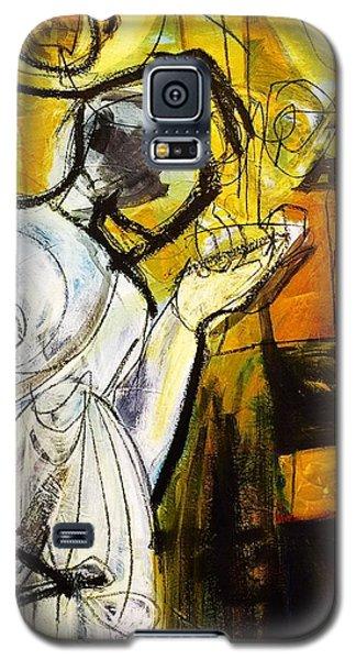 Breakfast On Park Road II Galaxy S5 Case by Helen Syron