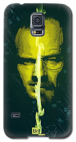 Breaking Bad Poster Heisenberg Print Walter White And Jesse Pinkman Portrait Wall Decor Galaxy S5 Case