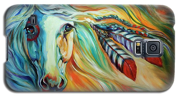 Breaking Dawn Indian War Horse Galaxy S5 Case