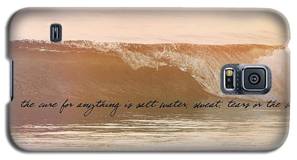 Breaking Wave Quote Galaxy S5 Case