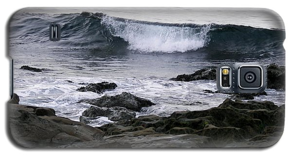Galaxy S5 Case featuring the photograph Breaking Waves by Carol  Bradley
