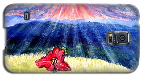 Breakthrough Of Hope Galaxy S5 Case by Kimberlee Baxter