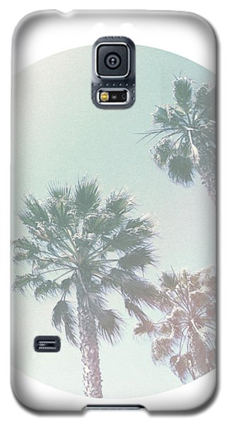 Breezy Palm Trees- Art By Linda Woods Galaxy S5 Case