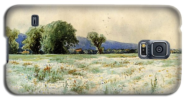 Bricher Alfred Thompson The Daisy Field Galaxy S5 Case