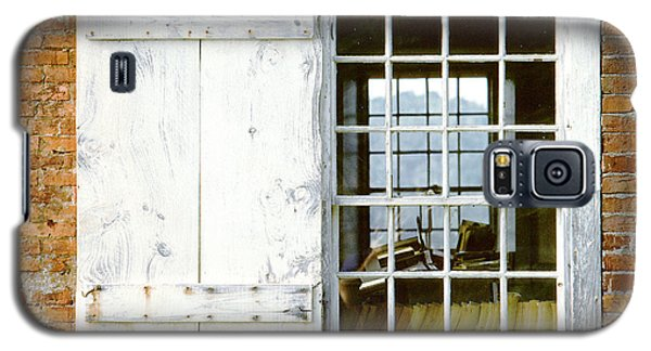 Brick Schoolhouse Window Photo Galaxy S5 Case