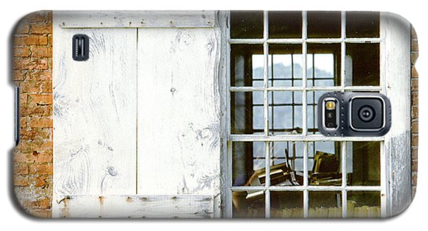 Brick Schoolhouse Window Photo Galaxy S5 Case