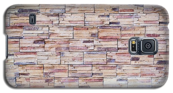 Galaxy S5 Case featuring the photograph Brick Tiled Wall by John Williams