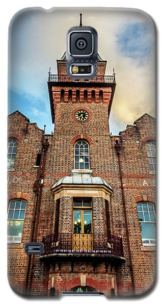 Galaxy S5 Case featuring the photograph Brick Tower by Perry Webster