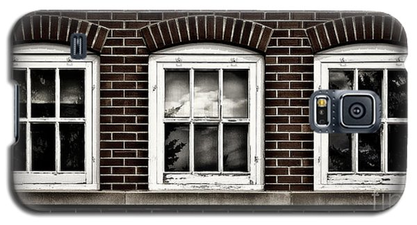 Galaxy S5 Case featuring the photograph Brick Trio by Brad Allen Fine Art
