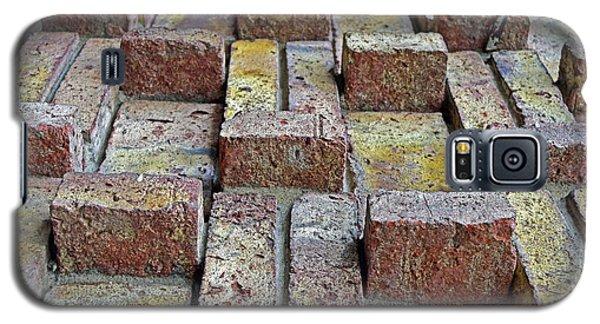 Bricks No. 38-1 Galaxy S5 Case by Sandy Taylor