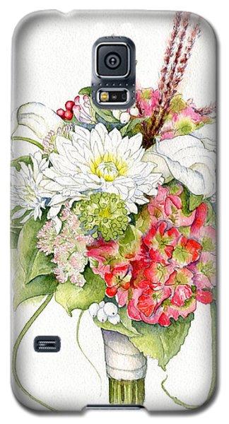 Bridal Bouquet Galaxy S5 Case