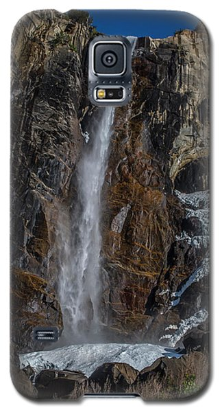 Bridal Veil Falls On Ice Galaxy S5 Case