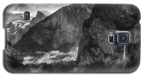 Bridalvail Falls And Half Dome Galaxy S5 Case