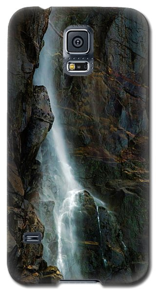 Galaxy S5 Case featuring the photograph Bridalveil Falls In Autumn by Bill Gallagher