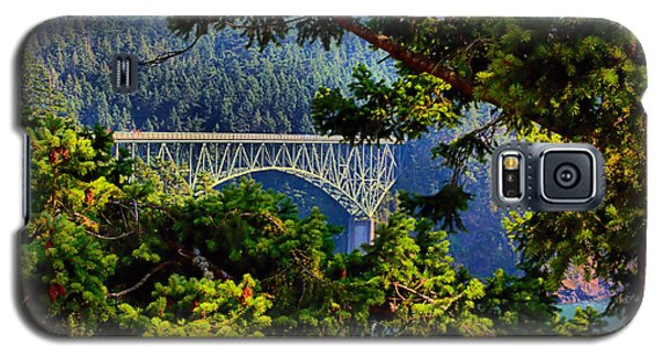 Bridge At Deception Pass Galaxy S5 Case