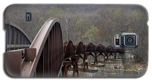 Bridge At Ohiopyle Pennsylvania Galaxy S5 Case