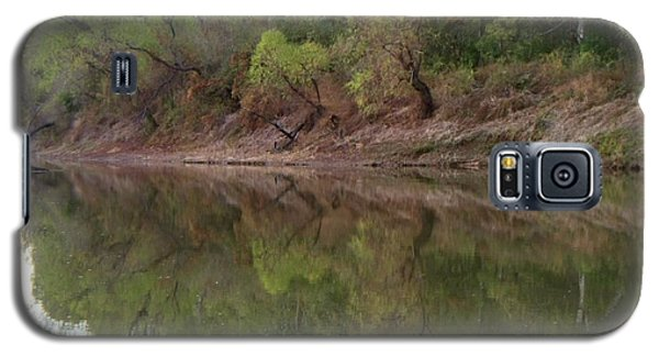 Galaxy S5 Case featuring the photograph Bridge Frame by Betty Northcutt