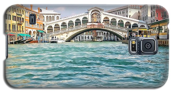 Galaxy S5 Case featuring the photograph Bridge In Venice by Roberta Byram