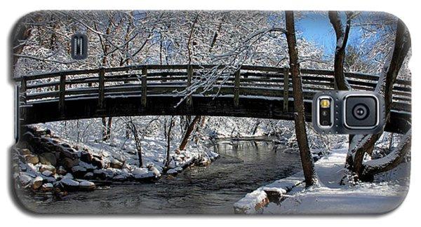 Bridge In Winter Galaxy S5 Case