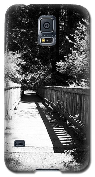 Galaxy S5 Case featuring the photograph Bridge In Woods by Yulia Kazansky