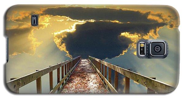 Bridge Into Sunset Galaxy S5 Case