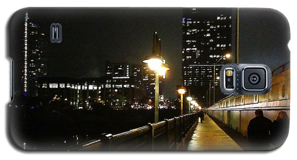 Galaxy S5 Case featuring the photograph Bridge Into The Night by Felipe Adan Lerma