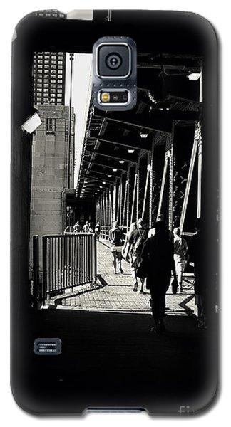 Bridge - Lower Lake Shore Drive At Navy Pier Chicago. Galaxy S5 Case