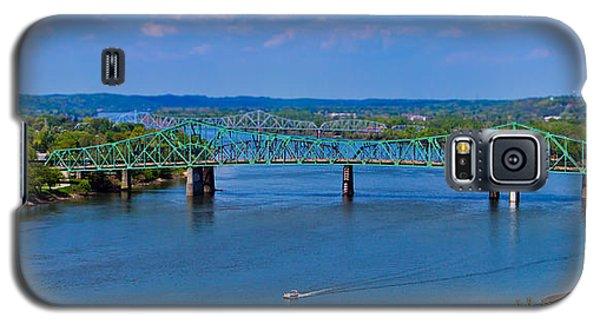 Bridge On The Ohio River Galaxy S5 Case by Jonny D