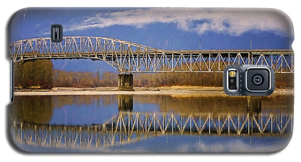 Galaxy S5 Case featuring the photograph Bridge Over Calm Waters by Jordan Blackstone