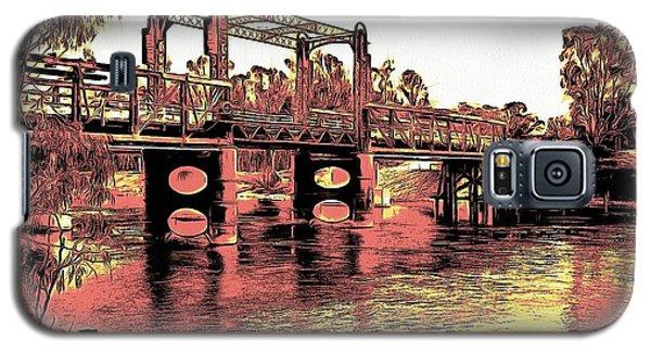 Bridge Over Murray River Galaxy S5 Case