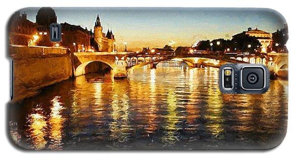 Bridge Over The Seine Galaxy S5 Case