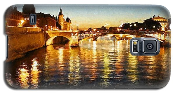 Bridge Over The Seine Galaxy S5 Case