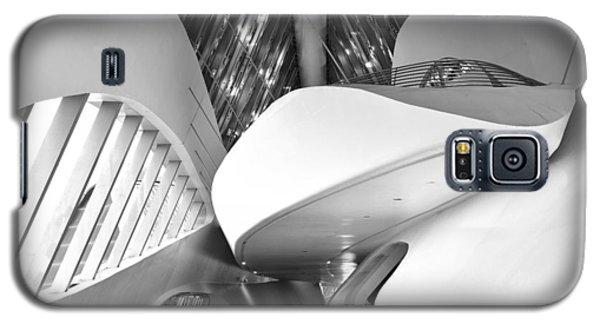 Galaxy S5 Case featuring the photograph Bridge Pavilion Zaragoza by Marek Stepan