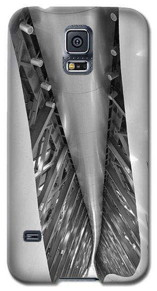 Galaxy S5 Case featuring the photograph Bridge Pavilion Zaragoza Spain by Marek Stepan