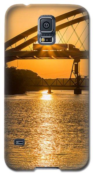 Bridge Sunrise #2 Galaxy S5 Case