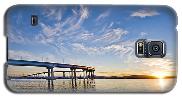 Bridge Sunrise Galaxy S5 Case