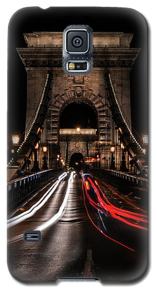 Galaxy S5 Case featuring the photograph Bridges Of Budapest - Chain Bridge by Jaroslaw Blaminsky