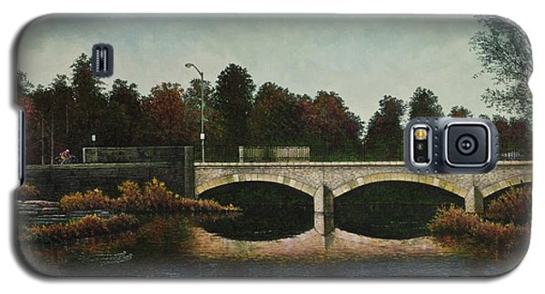 Bridges Of Forest Park Iv Galaxy S5 Case by Michael Frank