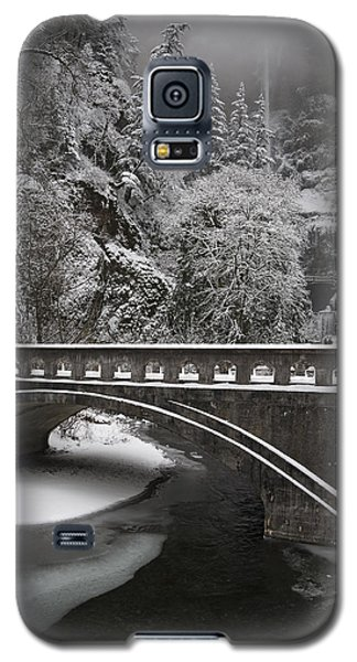 Bridges Of Multnomah Falls Galaxy S5 Case by Wes and Dotty Weber