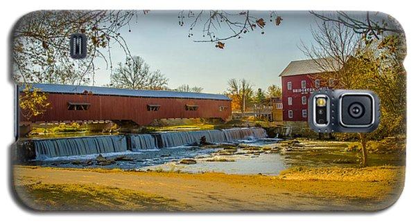 Bridgeton Mill Covered Bridge Galaxy S5 Case